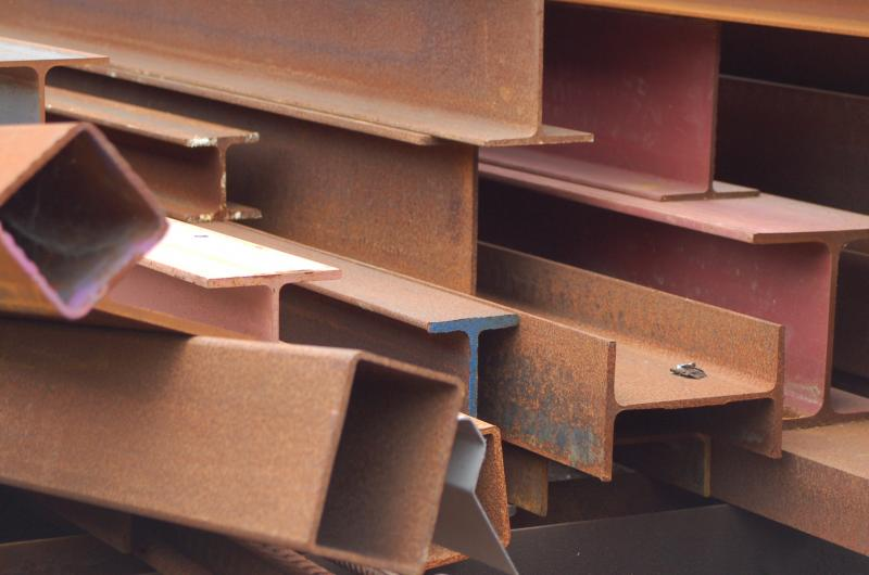 Steel supplies in stock at Island Structural